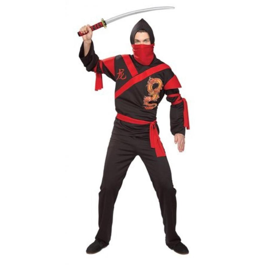 ハロウィン コスプレ 輸入品 Rubies Costume Co Men's Dragon Ninja Warrior Costume