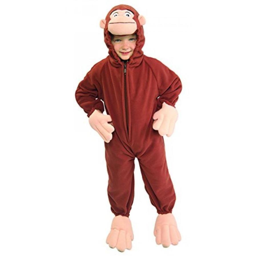 ハロウィン コスプレ 輸入品 Curious George Toddler Costume