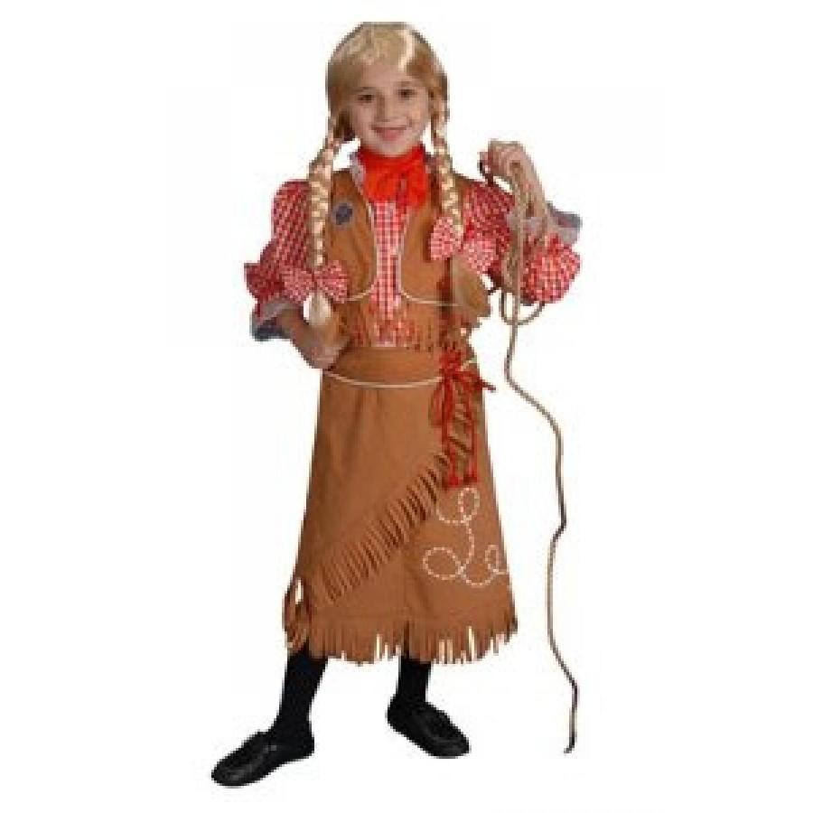 ハロウィン コスプレ 輸入品 Cowgirl Toddler Costume Size 4T