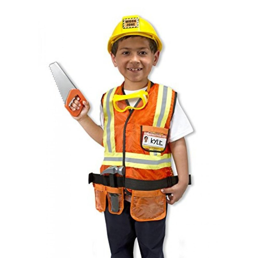 ハロウィン コスプレ 輸入品 Melissa and Doug Construction Worker Costume