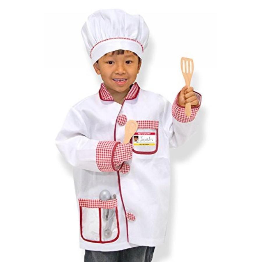 ハロウィン コスプレ 輸入品 Melissa & Doug Chef Role Play Set