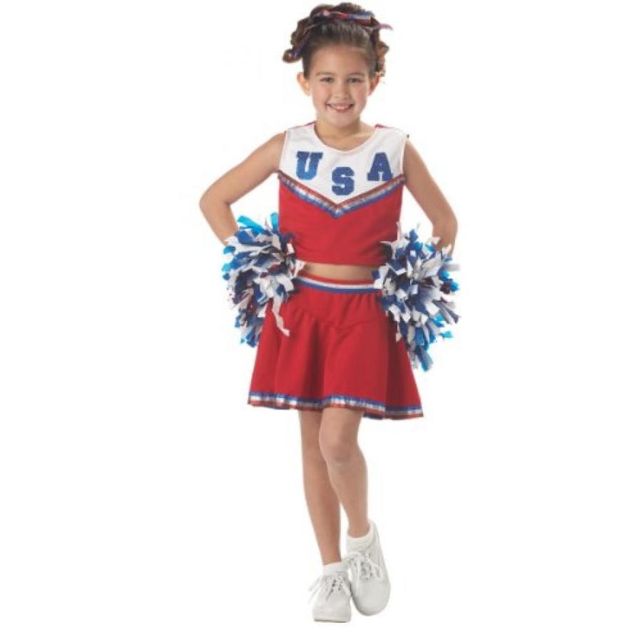 ハロウィン コスプレ 輸入品 California Costumes Patriotic Cheerleader Costume