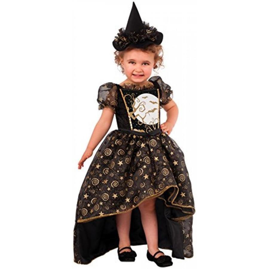 ハロウィン コスプレ 輸入品 Rubie's Costume Glitter Witch Child Costume