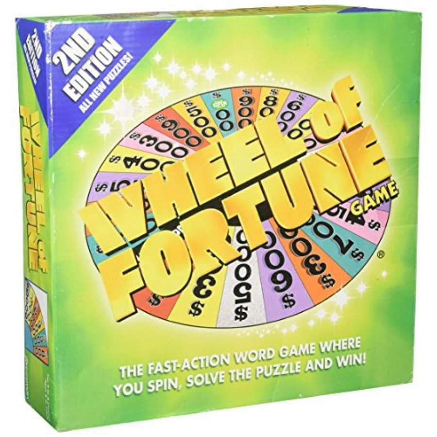Wheel of Fortune Board Game 2nd Edition(8 AND UP) 輸入品