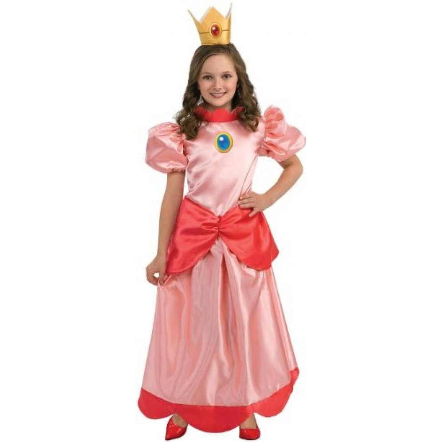 ハロウィン コスプレ 輸入品 Rubies Super Mario Princess Peach Costume
