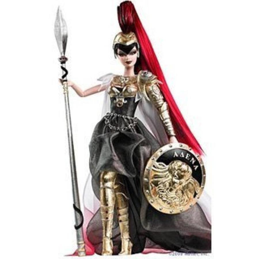 バービー おもちゃ Barbie Athena Doll ゴールド Label 輸入品