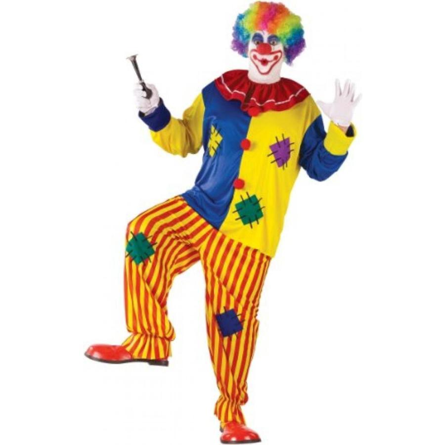 ハロウィン コスプレ 輸入品 Fun World Men's Big Top Clown Costume