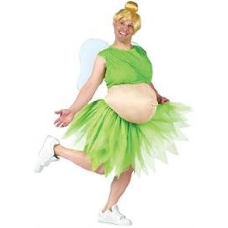 ハロウィン コスプレ 輸入品 FunWorld Men's Tinker Belly Costume