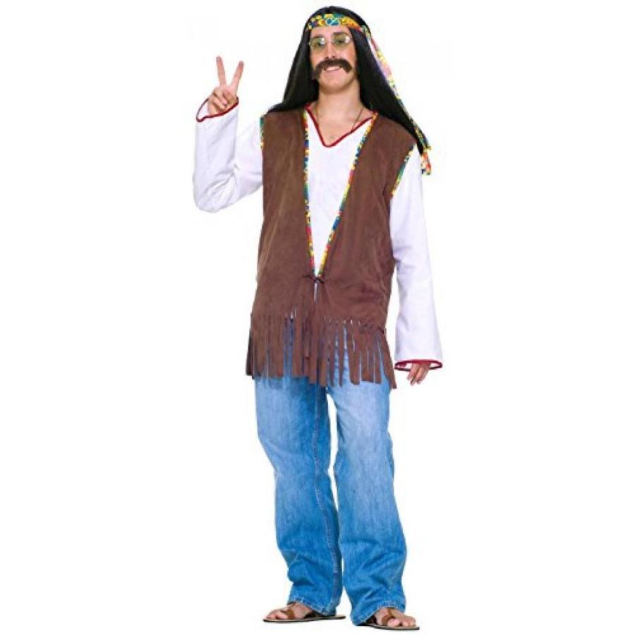 ハロウィン コスプレ 輸入品 Forum Novelties Men's Generation Hippie Costume Vest