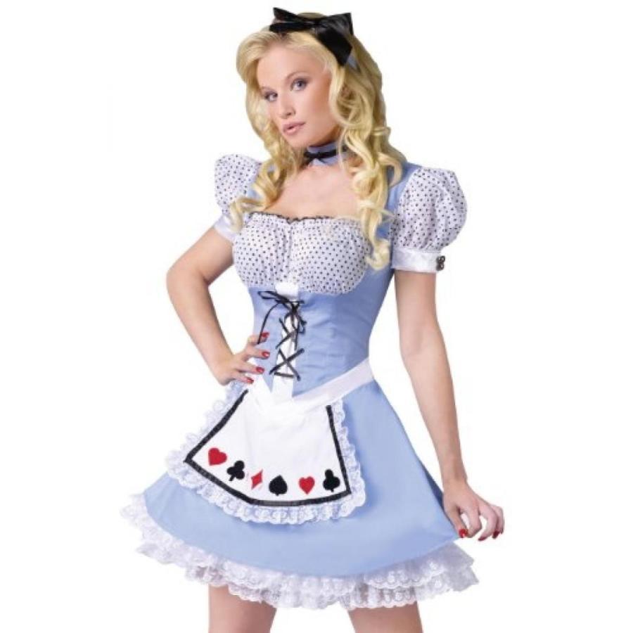 ハロウィン コスプレ 輸入品 Alice Costume - Small/Medium - Dress Size 2-8