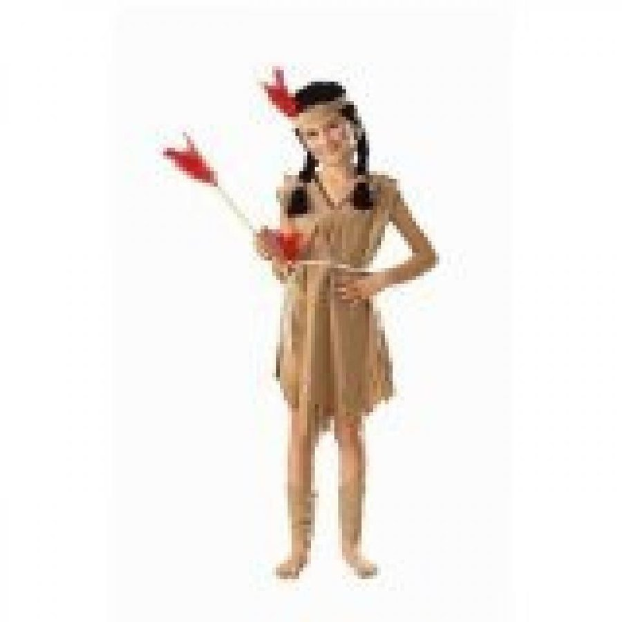 ハロウィン コスプレ 輸入品 Indian Princess Child Costume
