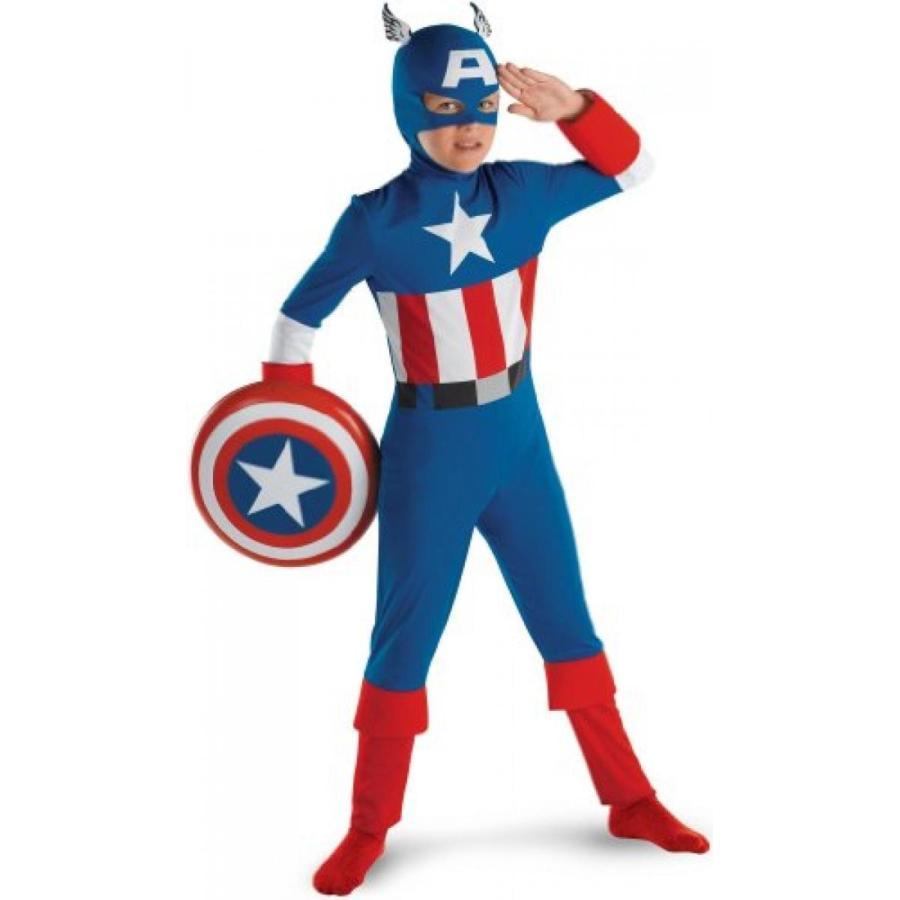 ハロウィン コスプレ 輸入品 Captain America Costume - Child Costume Standard - Medium (7-8)