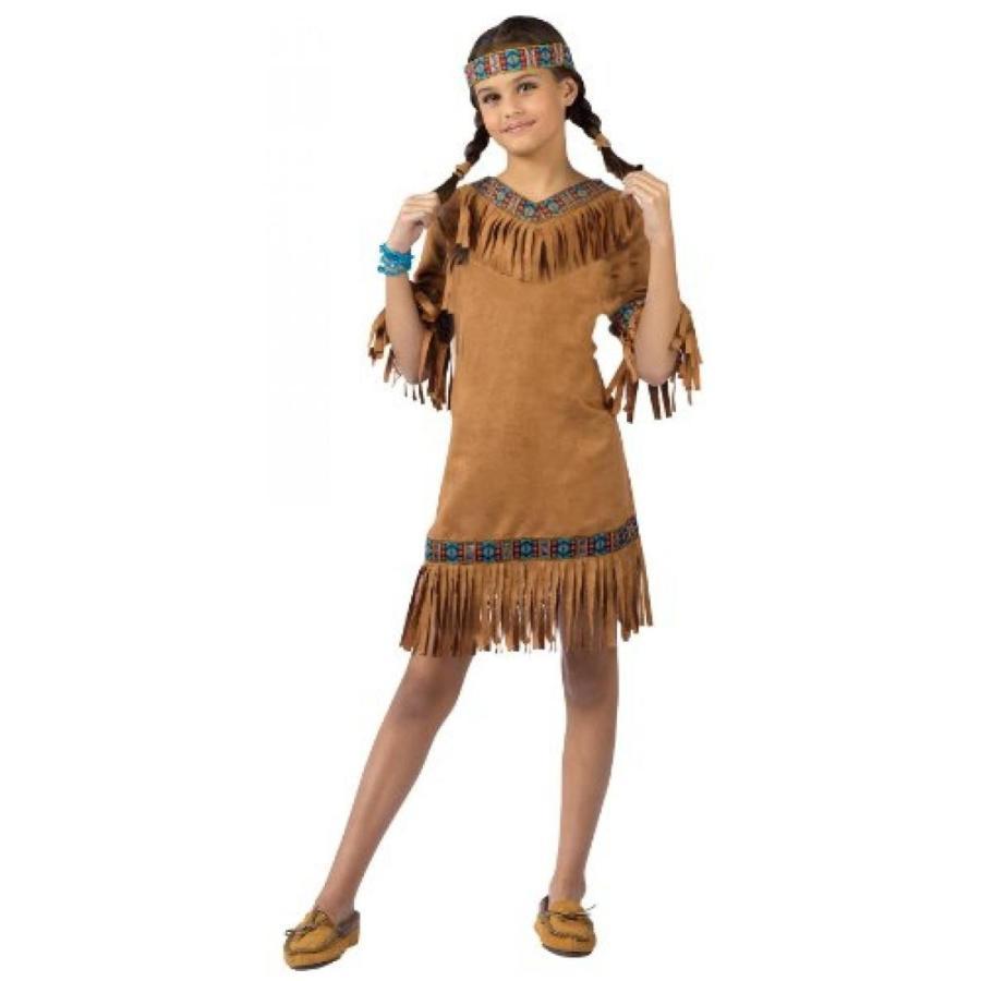 ハロウィン コスプレ 輸入品 Fun World Girls Native American Indian Girl Costume