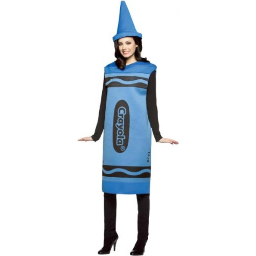 ハロウィン コスプレ 輸入品 Crayola Costume 青 Adt Sm/Md