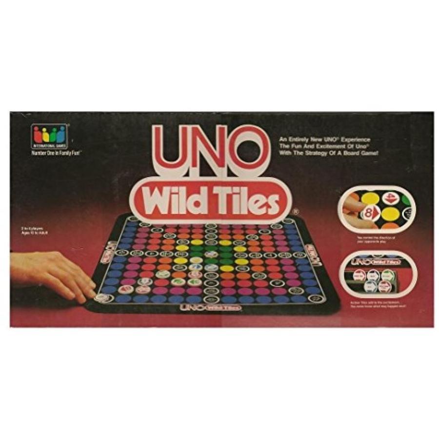 UNO Wild Tiles Board Game (1983-1986) 輸入品
