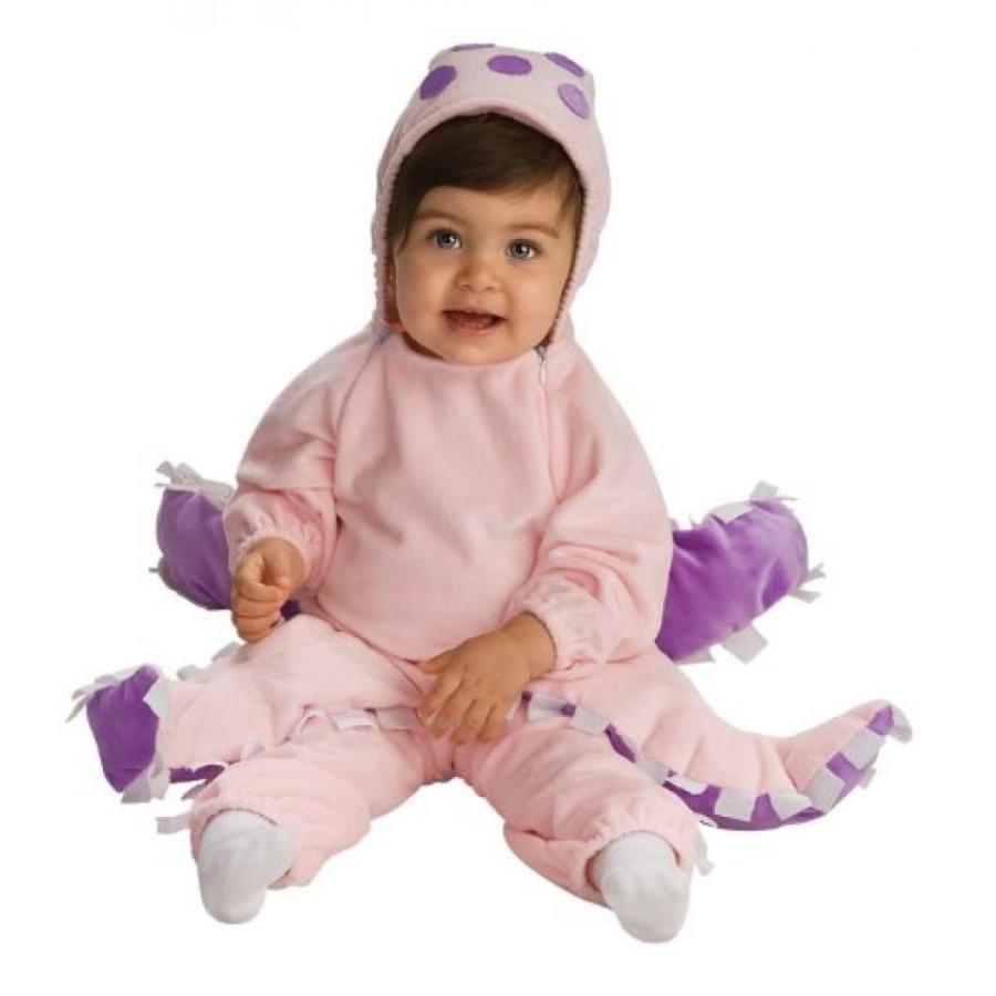 ハロウィン コスプレ 輸入品 Rubie's Deluxe Baby Octopus Costume, ピンク