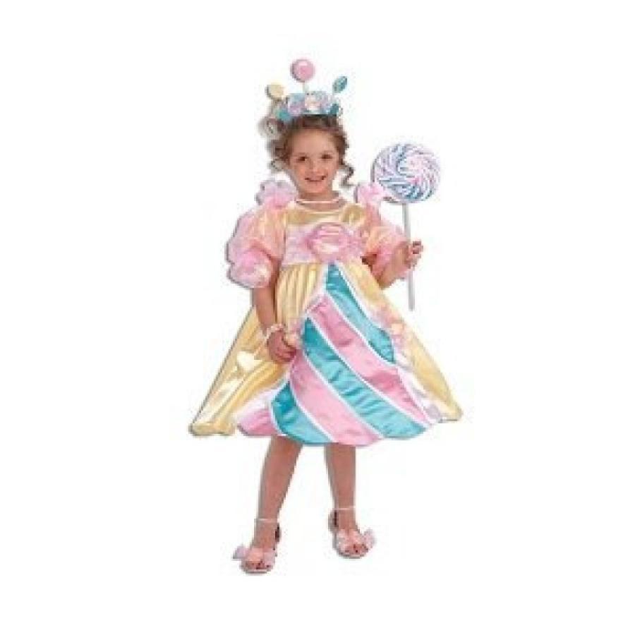 ハロウィン コスプレ 輸入品 Sweet Candy Princess Costume Size 2-4 Toddler