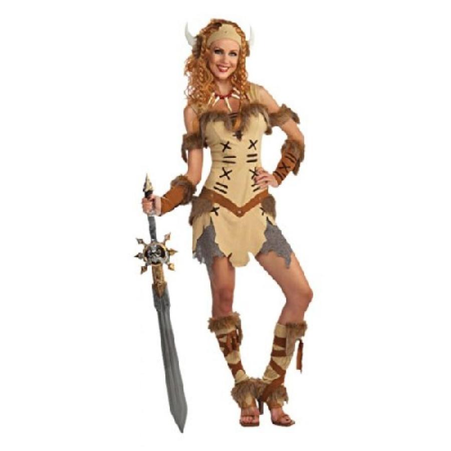 ハロウィン コスプレ 輸入品 Adult Viking Princess Costume
