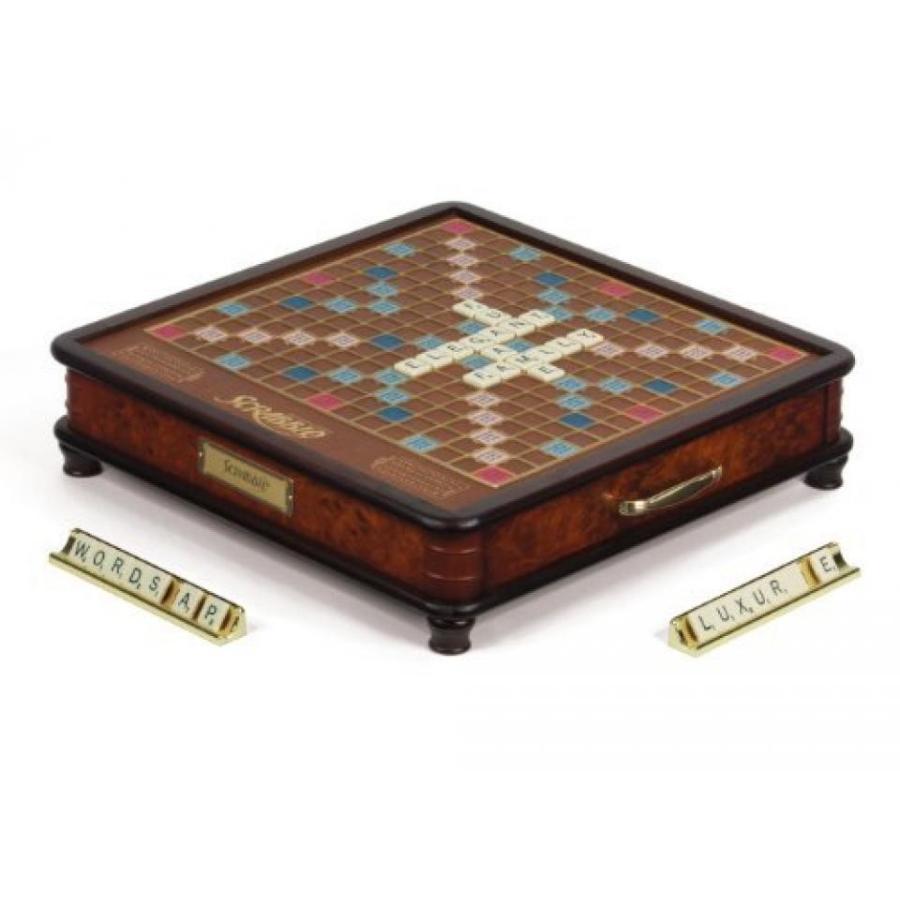 Scrabble Luxury Edition Board Game 輸入品