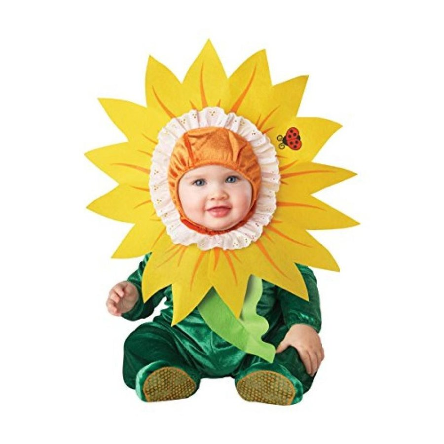 ハロウィン コスプレ 輸入品 InCharacter Baby Silly Sunflower Costume