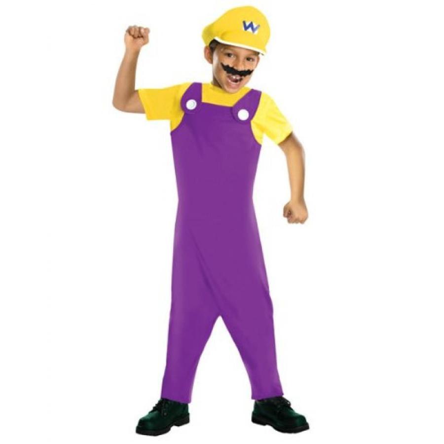 ハロウィン コスプレ 輸入品 Super Mario Bros Wario Costume Child