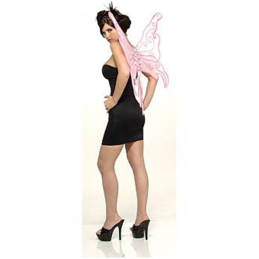 ハロウィン コスプレ 輸入品 Rubie's Costume Co ピンク Glitter Butterfly Wings Costume