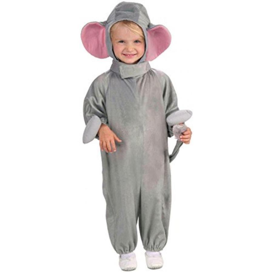 ハロウィン コスプレ 輸入品 Kids Fleece Elephant Costume, Toddler