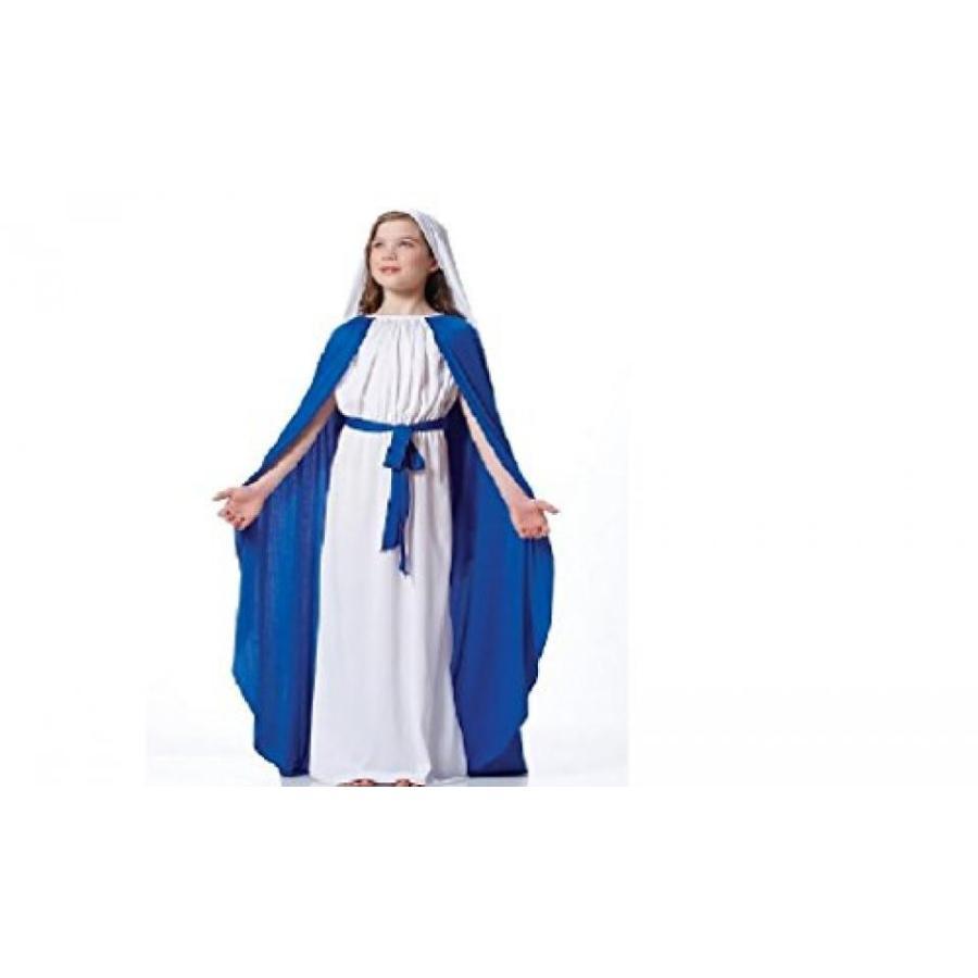 ハロウィン コスプレ 輸入品 Nativity Mary Child Costume Size 8-10 Medium
