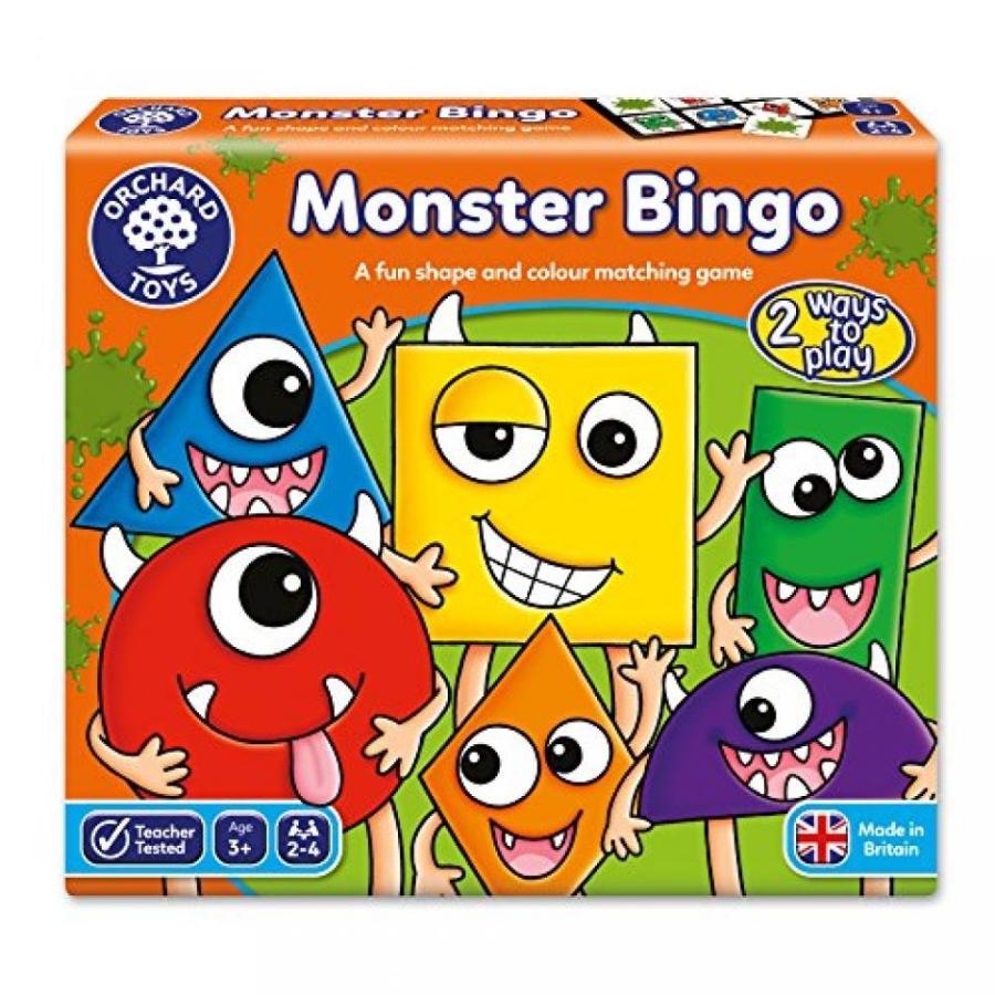 Monster Bingo Board Game 輸入品