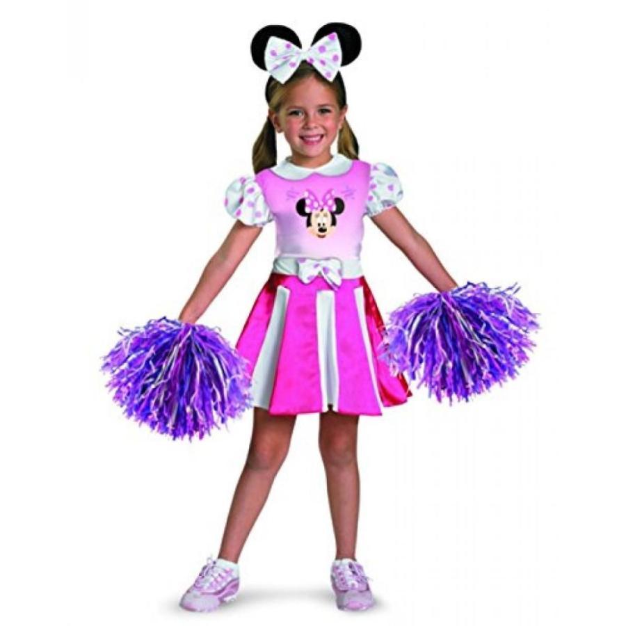 ハロウィン コスプレ 輸入品 Costumes For All Occasions Dg26896M Minnie Mouse Cheerleader 3T-4T