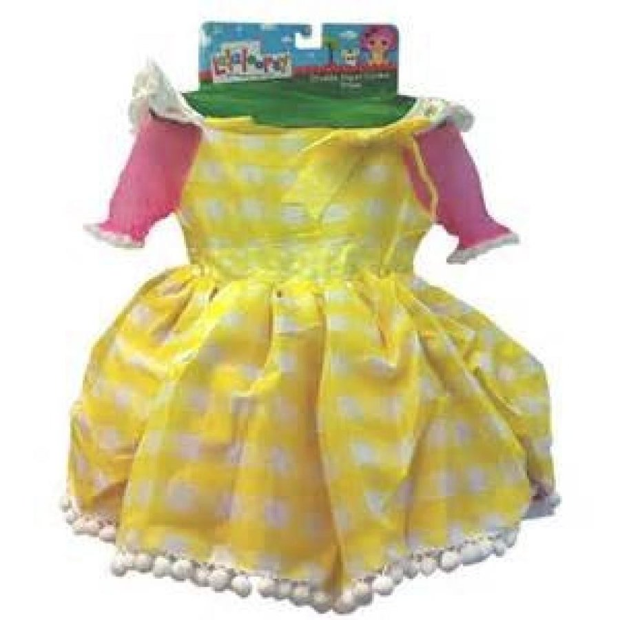 ハロウィン コスプレ 輸入品 Lalaloopsy CRUMBS SUGAR COOKIE DRESS UP COSTUME for GIRLS