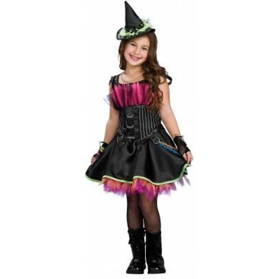 ハロウィン コスプレ 輸入品 Rubies Costumes 197421 Rockin Out Witch Child Costume Size