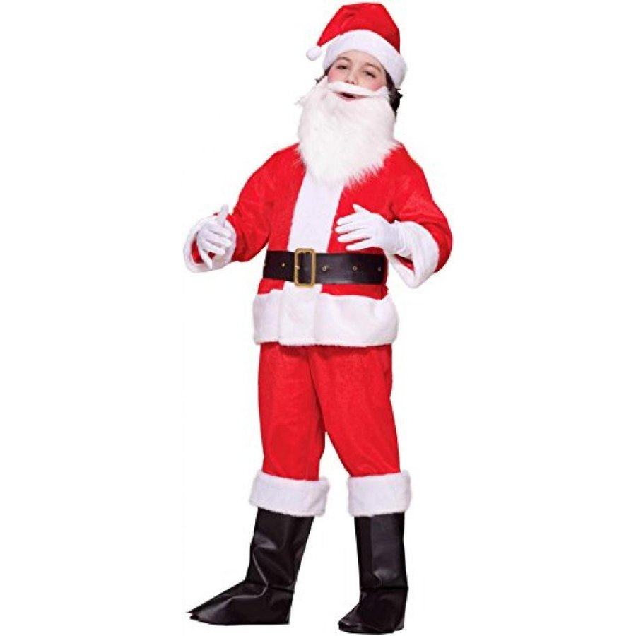 ハロウィン コスプレ 輸入品 Lil Santa Claus Deluxe Costume Child