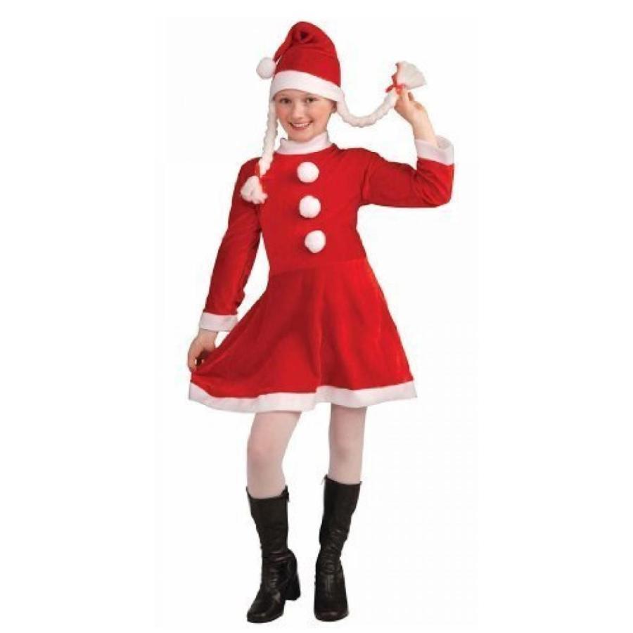 ハロウィン コスプレ 輸入品 Lil Miss Santa Kids Costume