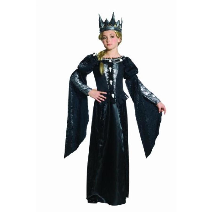 ハロウィン コスプレ 輸入品 Snow 白い and The Huntsman Deluxe Ravenna Skull Dress Tween Costume