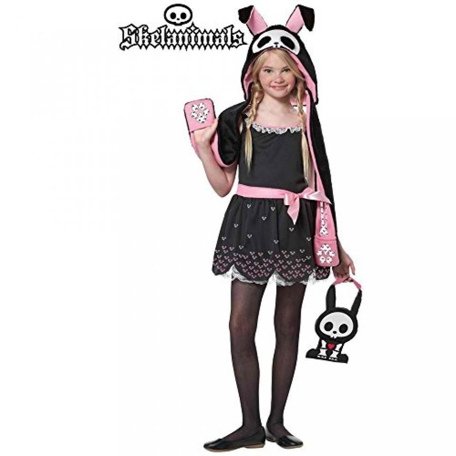 ハロウィン コスプレ 輸入品 Skelanimals - Jack the Rabbit Child Costume Size 10-12 Large