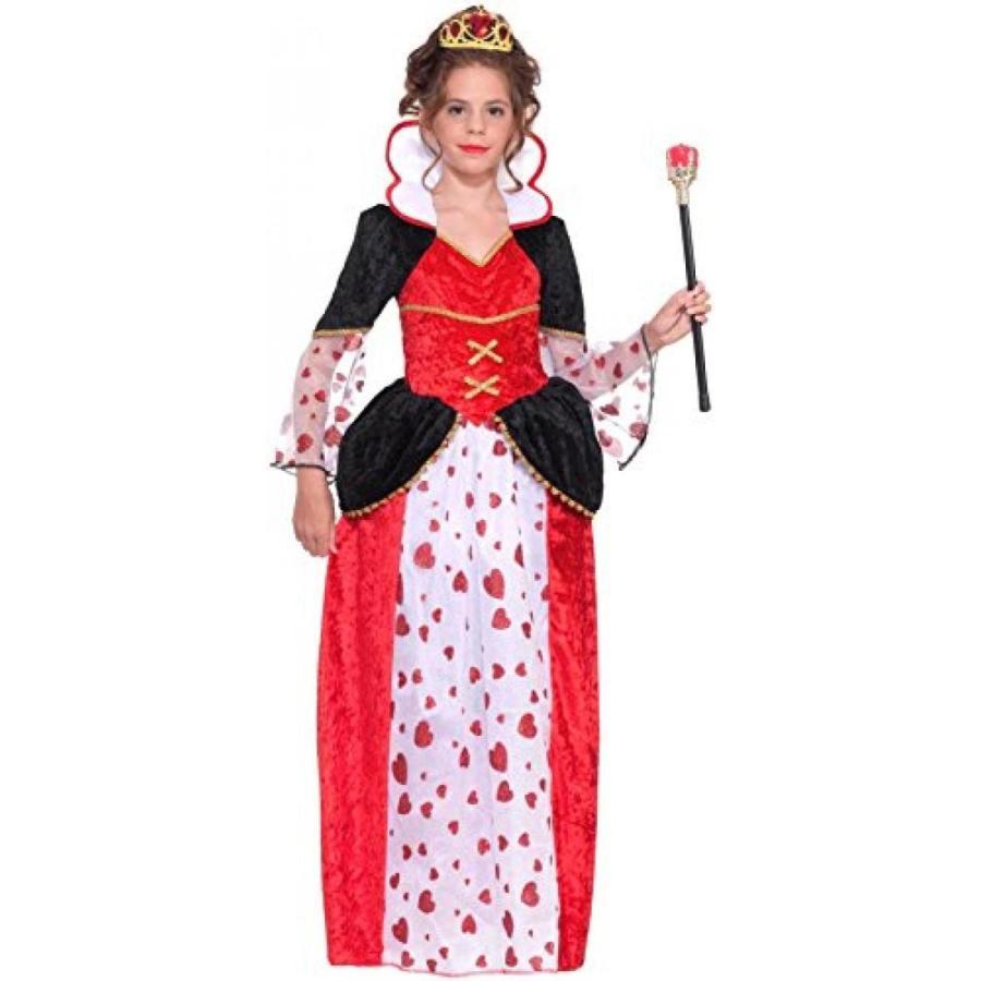 ハロウィン コスプレ 輸入品 Queen of Hearts Designer Kids Costume