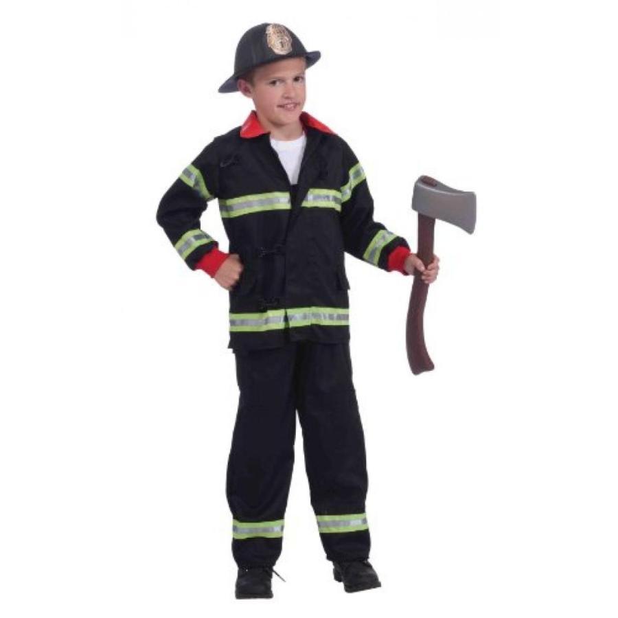 ハロウィン コスプレ 輸入品 Real Action Heroes, Instant Fireman Costume Kit, Child's Small
