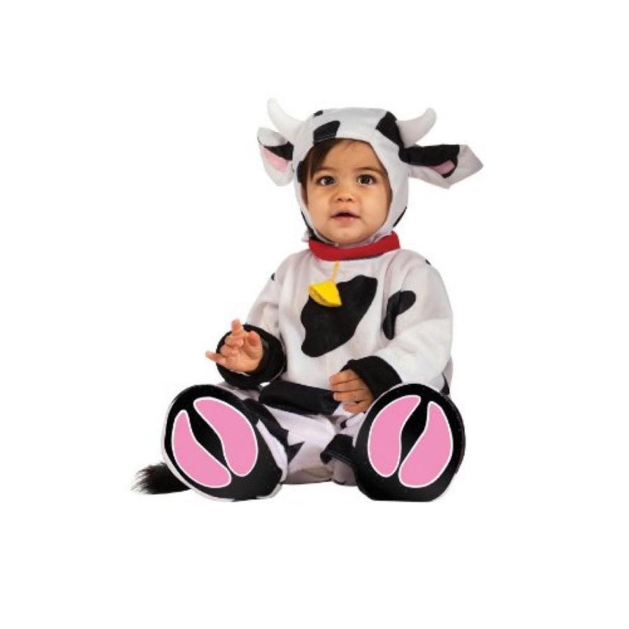 ハロウィン コスプレ 輸入品 Rubie's Costume Cuddly Jungle Mr. Moo Cow Romper Costume