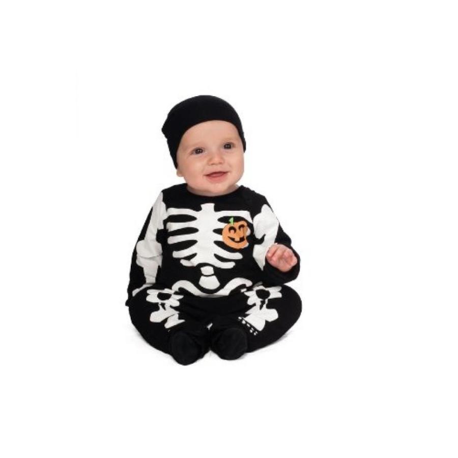 ハロウィン コスプレ 輸入品 Rubie's Costume My First Halloween 黒 Skeleton Costume