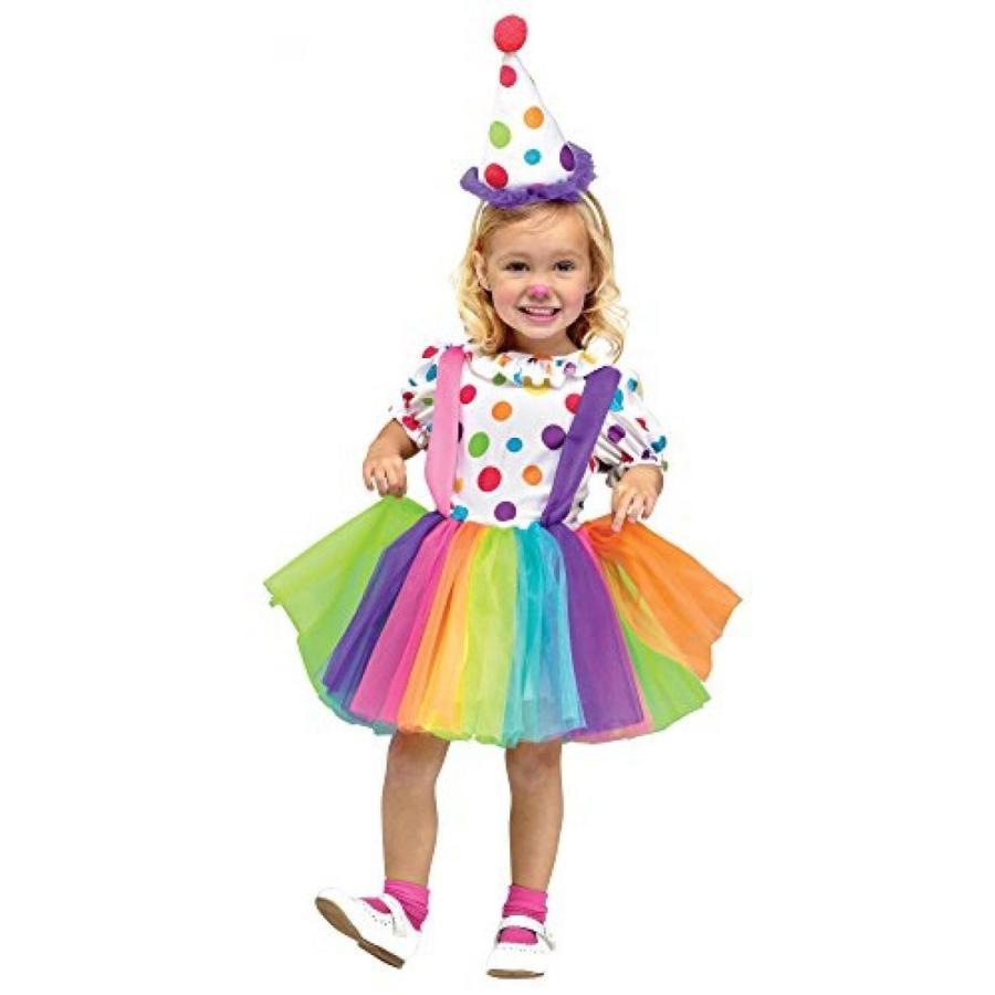 ハロウィン コスプレ 輸入品 Fun World Costumes Baby Girl's Big Top Fun Toddler Costume