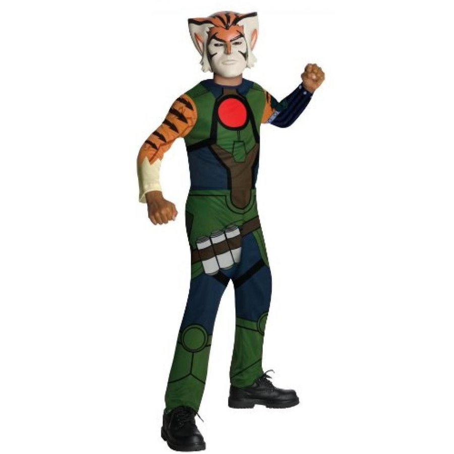 ハロウィン コスプレ 輸入品 ThunderCats Animated, Tygra, Value Child Costume