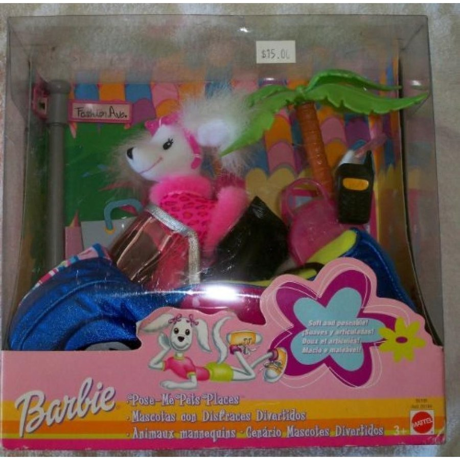 バービー おもちゃ Barbie Pose-me Pets Places 輸入品