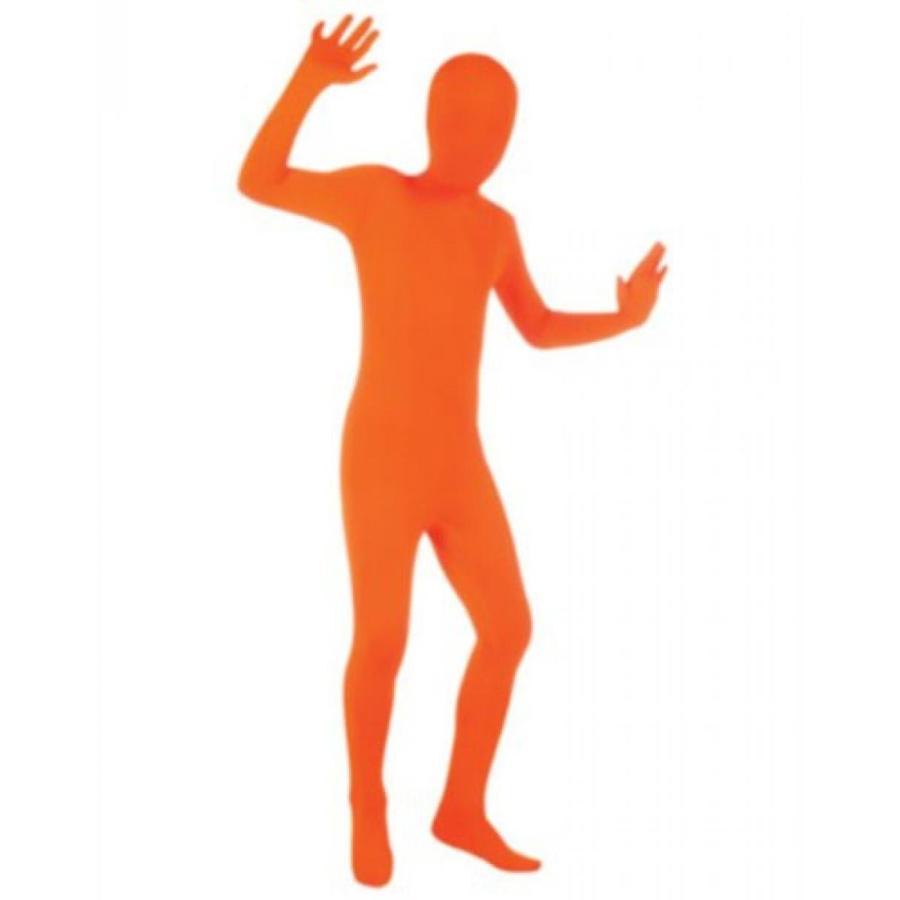 ハロウィン コスプレ 輸入品 Rubies Costumes オレンジ Skin Suit Child Costume Large - 12-14