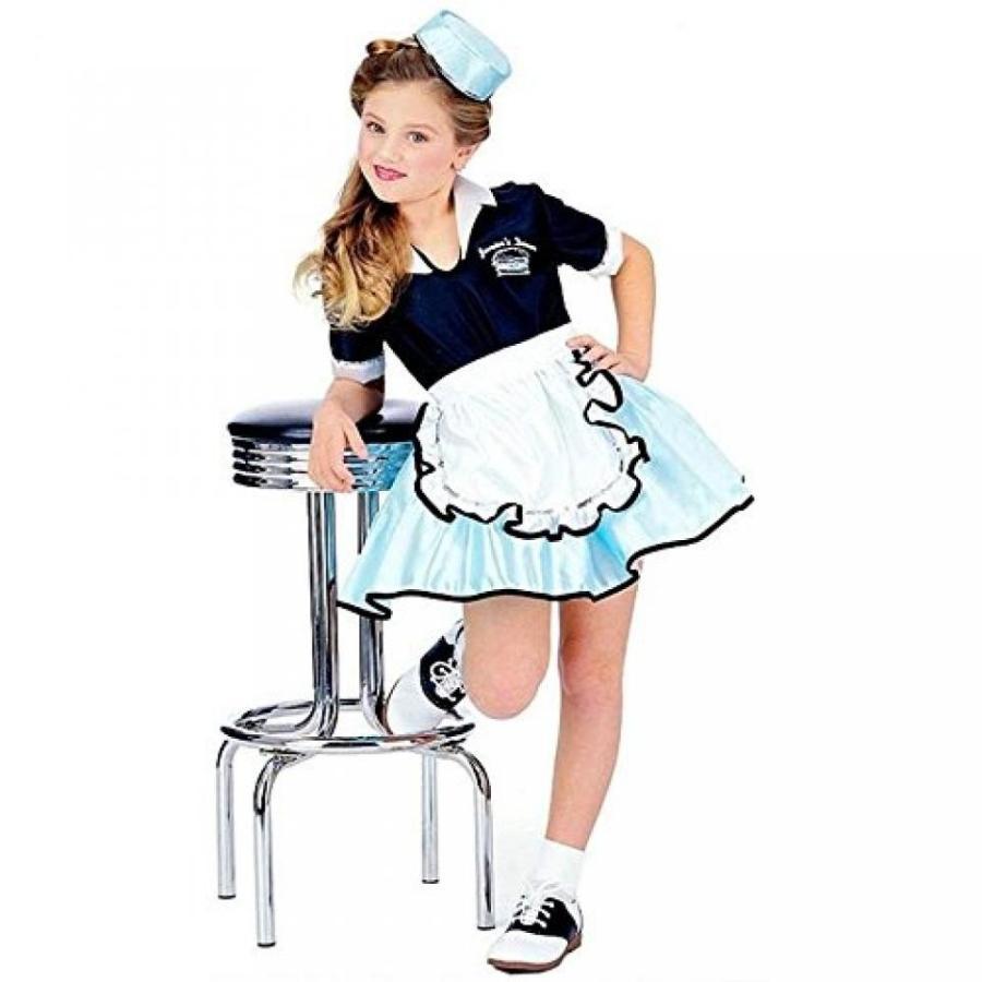 ハロウィン コスプレ 輸入品 50s Favorite Girls Car Hop Costume