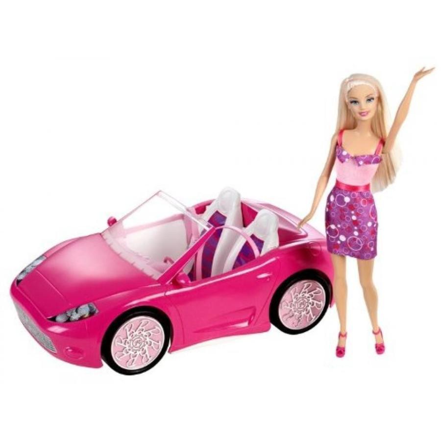 バービー おもちゃ Barbie Doll and Glam Convertible 輸入品