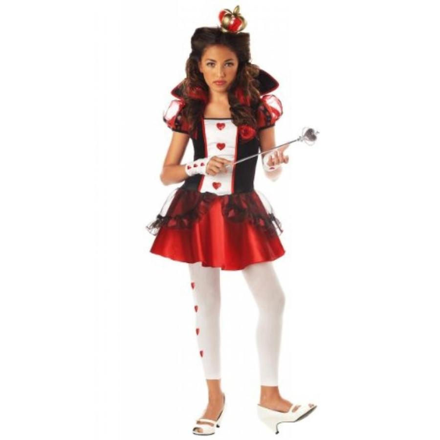 ハロウィン コスプレ 輸入品 California Costumes Tween Queen Of Hearts Costume,赤/黒/白い
