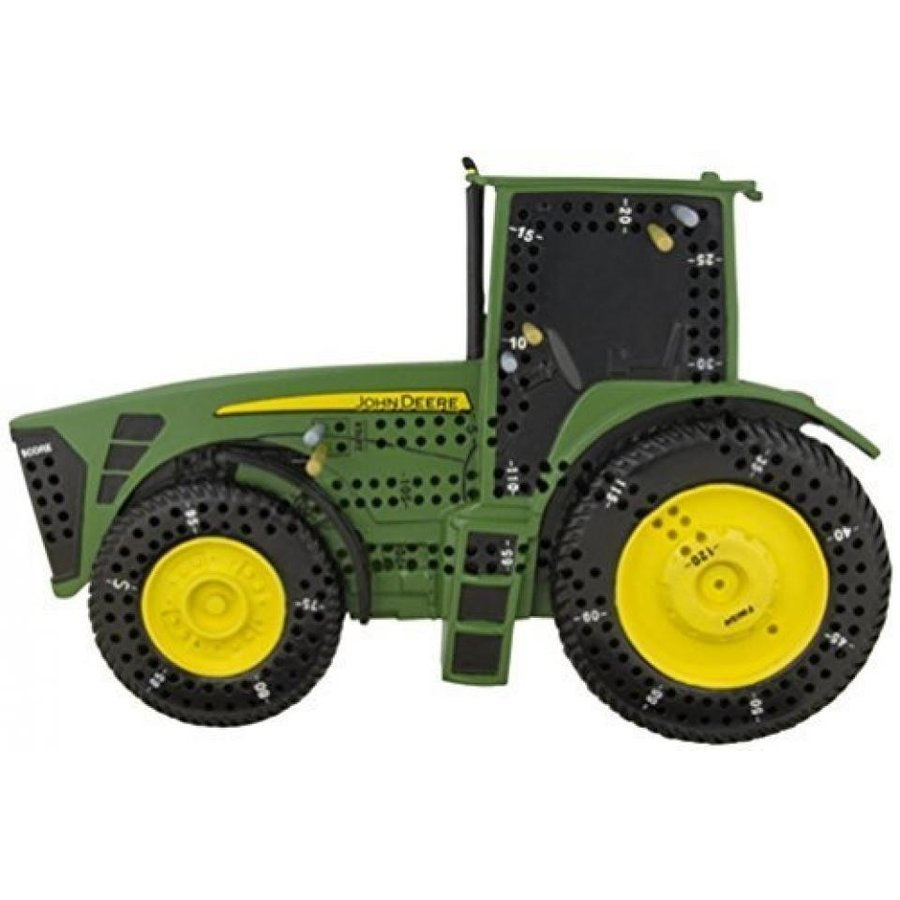 Unique John Deere Tractor Shaped Cribbage Board Game with Pegs 輸入品