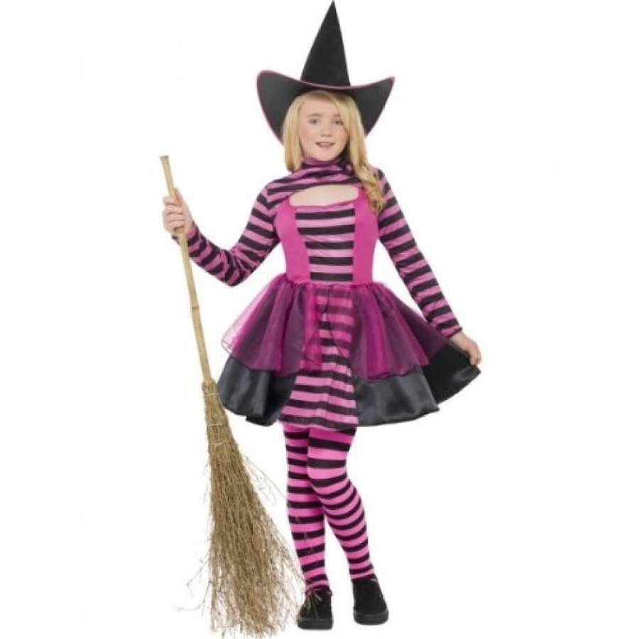 ハロウィン コスプレ 輸入品 Stripe Dark Fairy Costume - Medium Age 7-9
