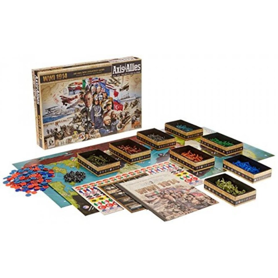 Axis and Allies 1914 World War I Board Game 輸入品